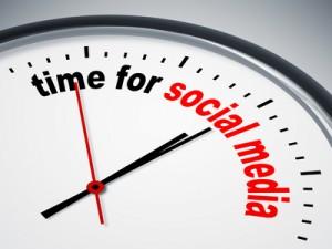 Social media tijd