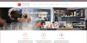 Website Passion Cuisine gemaakt door Innovata